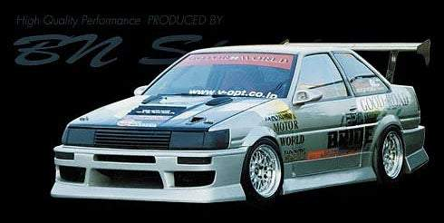 BN-Sports Aero Bodykits - Bn Sports AE86 Levin/Trueno