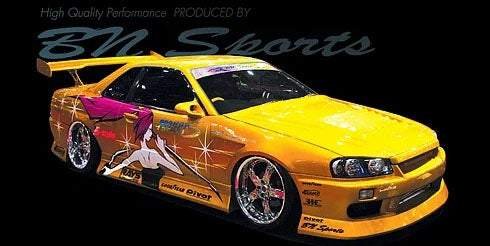 BN-Sports Aero Bodykits - BN Sports R34 Skyline