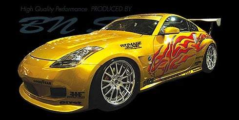 BN-Sports Aero Bodykits - Z33 Fairlady