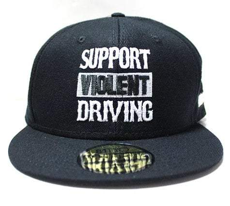 HardCore Support Violent Driving Logo Snapback Hat