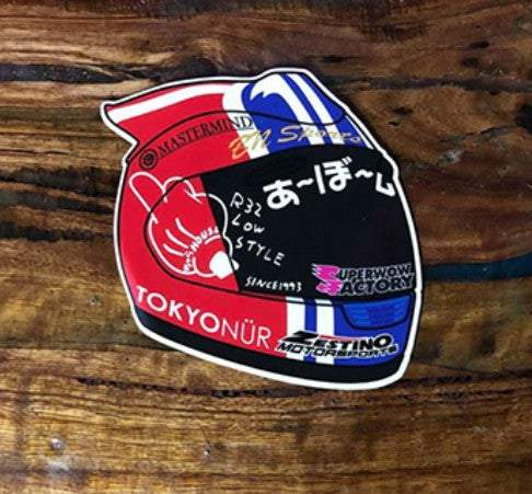 Stickers - ABO Helmet Drift Slap