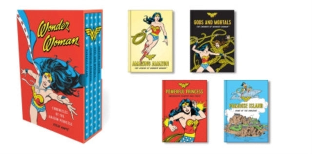 Wonder Woman: Chronicles of the Amazon Princess : (4 hardcover, illustrated books)