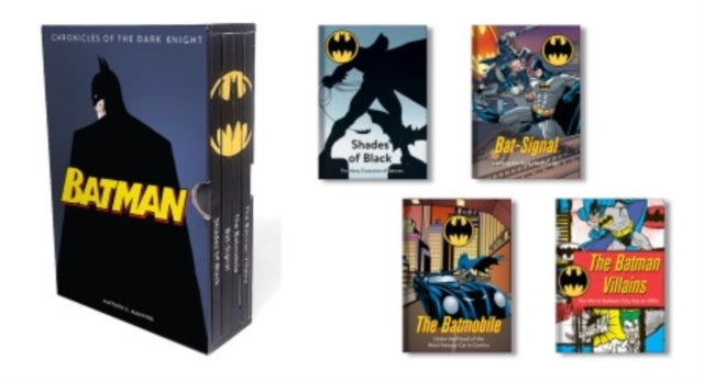 Batman: Chronicles of the Dark Knight : (4 hardcover, illustrated books)