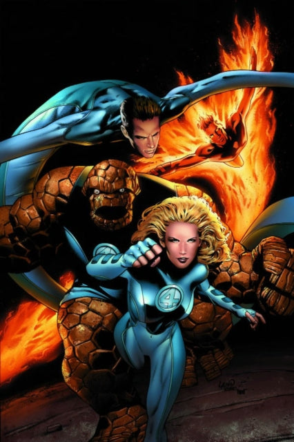 Ultimate Fantastic Four Vol.5: Crossover