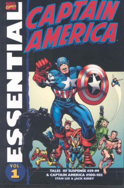 Essential Captain America Vol.1 ((all-new Edition))