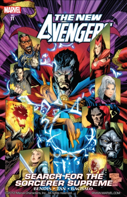 New Avengers Vol.11: Search For The Sorcerer Supreme