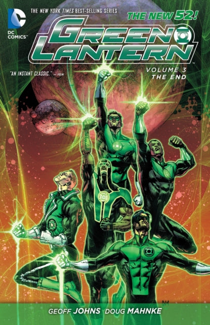 Green Lantern Vol. 3 : The End (The New 52)
