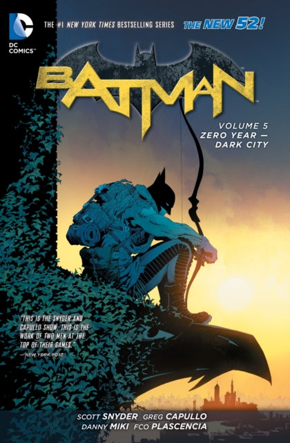 Batman Vol. 5 Zero Year - Dark City (The New 52)