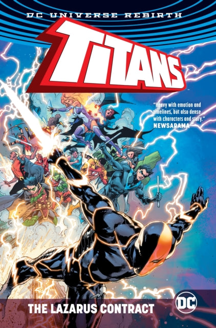 Titans The Lazarus Contract
