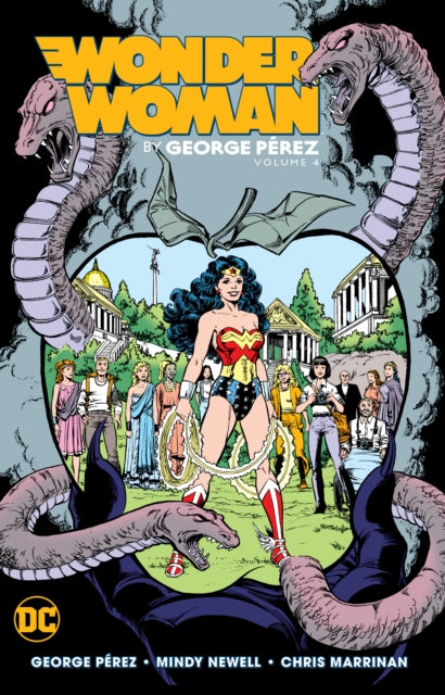 Wonder Woman by George Perez Volume 4