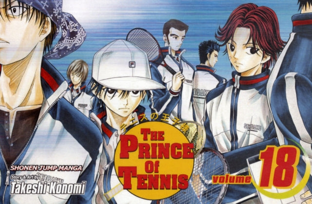 The Prince of Tennis, Vol. 18