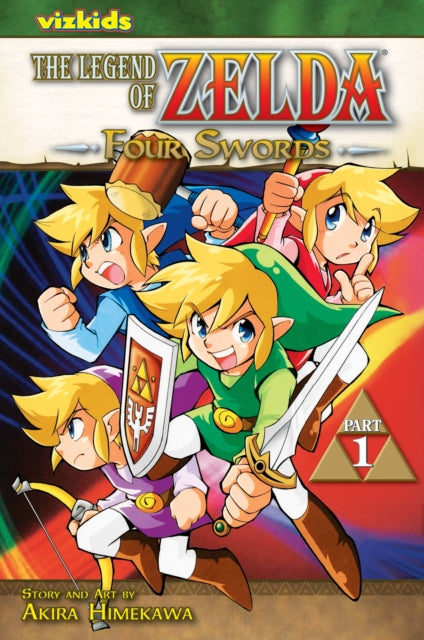 The Legend of Zelda, Vol. 6 : Four Swords - Part 1
