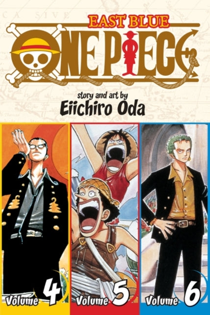 One Piece (Omnibus Edition), Vol. 2 : Includes vols. 4, 5 & 6