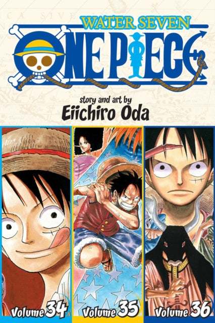One Piece (Omnibus Edition), Vol. 12 : Includes vols. 34, 35 & 36