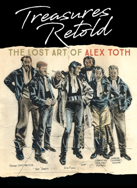 Treasures Retold The Lost Art Of Alex Toth