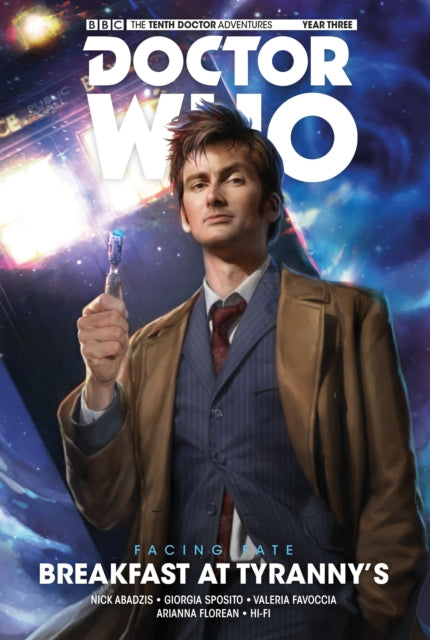 Doctor Who: The Tenth Doctor : Breakfast at Tyranny's Volume 8