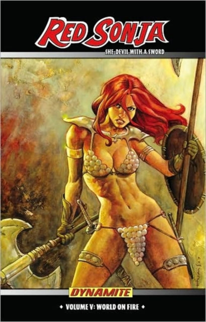 Red Sonja: She Devil with a Sword Volume 5