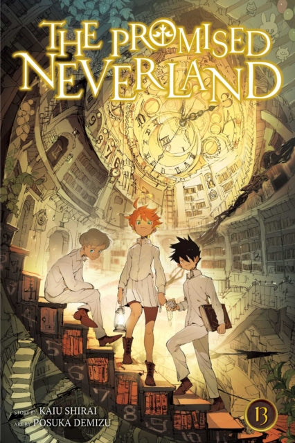 The Promised Neverland, Vol. 13