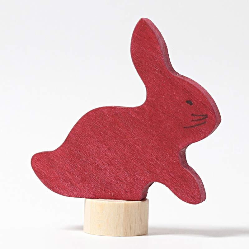 Grimm's Candle Holder Decoration-Rabbit Small