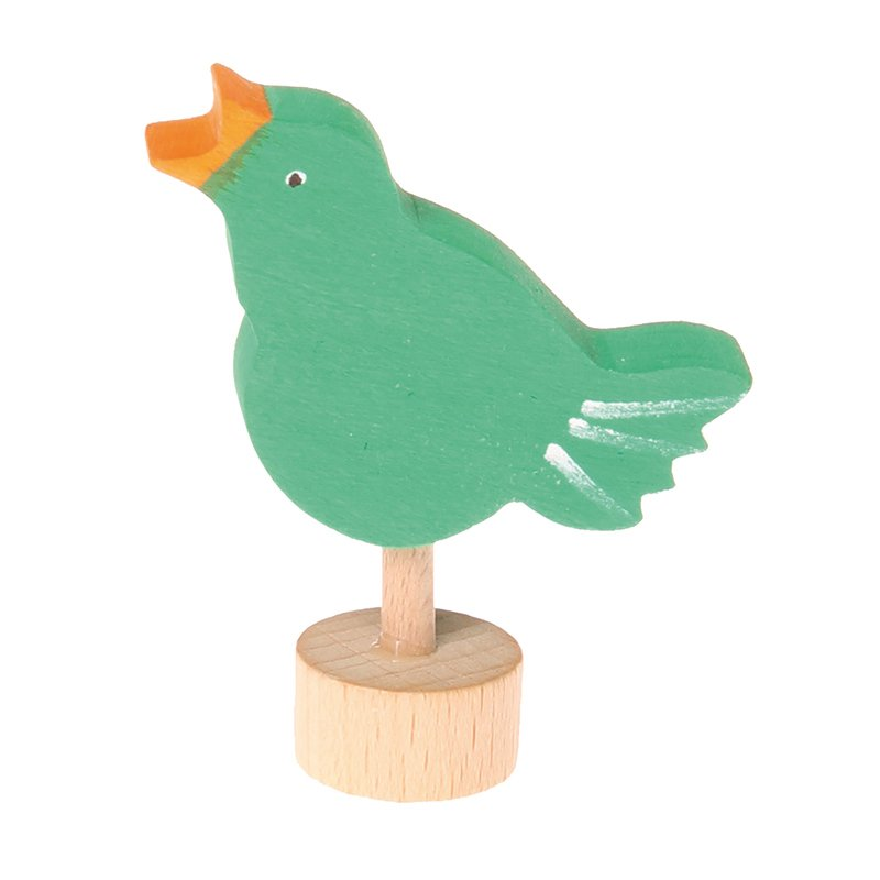Grimm's Candle Holder Decoration-Singing Bird