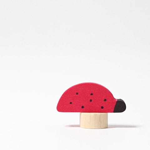 Grimm's Candle Holder Decoration-Ladybird