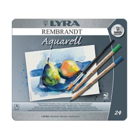 Lyra Rembrant Aquarelle Watercolour Pencil Tin of 24