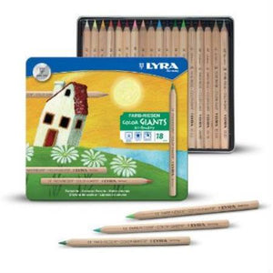 Lyra Colour Giants Pencils Tin of 18