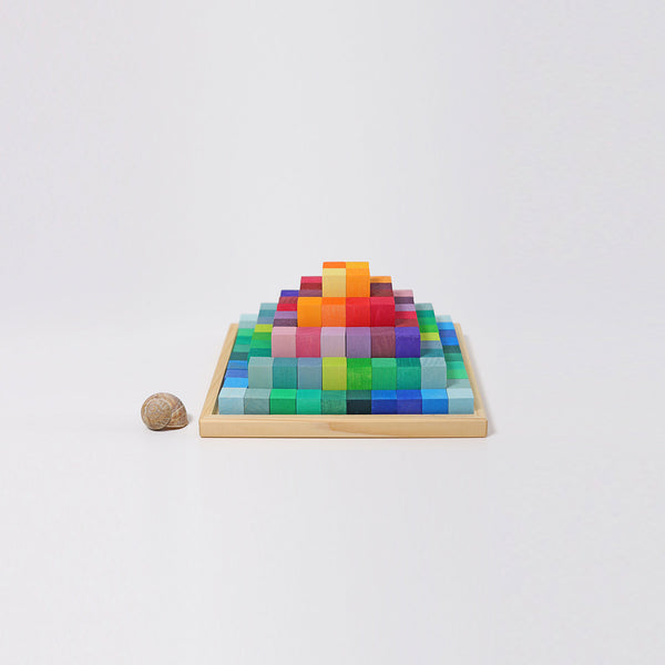 Grimm's Small Stepped Pyramid Blocks