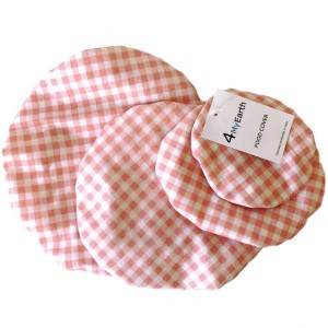 4MyEarth Food Cover Set Gingham