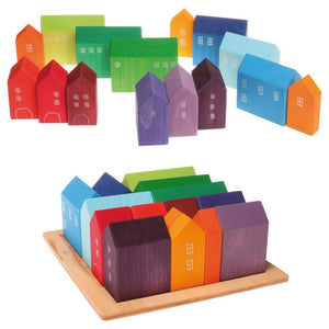 Grimm's Little Houses Building Set