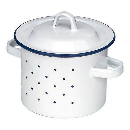Gluckskafer Enamel High Pot