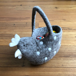Felted Chook Basket