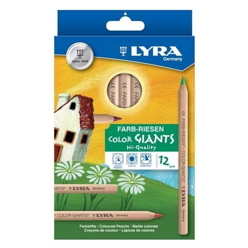 Lyra Colour Giants Pack of 12