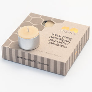 Queen B Tealight Candles (8-9hr) x9