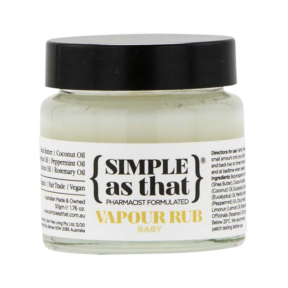 Simple As That Vapour Rub