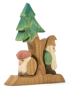 Ostheimer Fir Tree with Dwarves 3 Piece Set