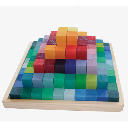 Grimm's Large Stepped Pyramid Blocks
