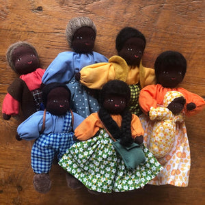 Evi Doll Family With Dark Skin