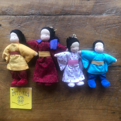 Evi Doll Japanese Family