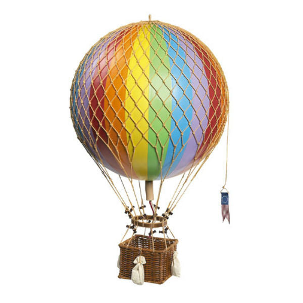 Hot Air Balloon- Small Rainbow