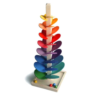 Magic Wood Rainbow Marble Tree Large