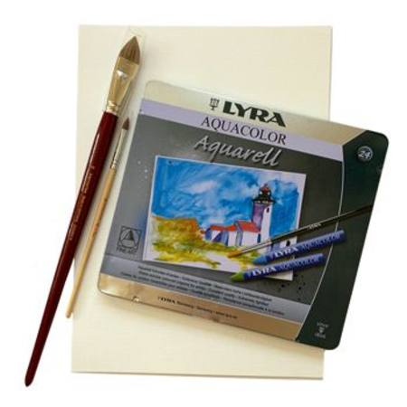 Lyra Watercolour Crayon & Paint Set