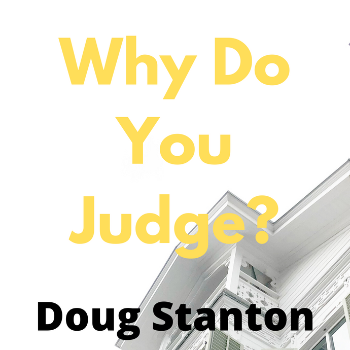 Why do you Judge? (Audio)