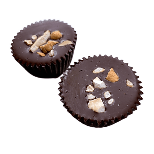 KETO Cashew Butter Cup 2 Pack - Tia Coco Healthy Chocolate