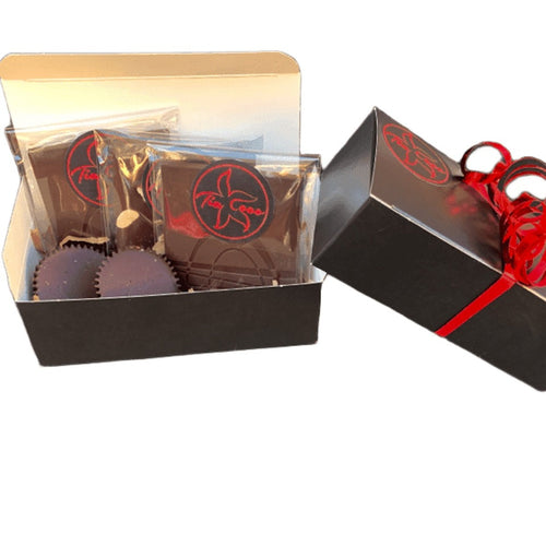 KETO Sugar Free Chocolate Gift Box Assorted 5 Piece - Tia Coco Healthy Chocolate