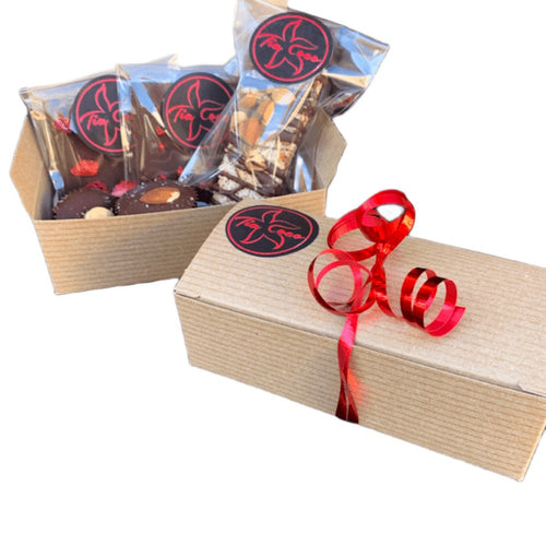 Chocolate Gift Box Assorted 5 Piece - Tia Coco Healthy Chocolate