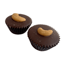 Load image into Gallery viewer, Wholesale Cashew Butter Cups 2pk 1.8 oz each Case of 10 - Tia Coco Healthy Chocolate