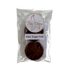 Load image into Gallery viewer, KETO Cashew Butter Cups 2pk - Tia Coco Healthy Chocolate
