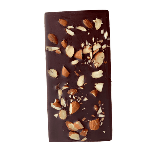 Almond Crunch Chocolate Bars - Tia Coco Healthy Chocolate