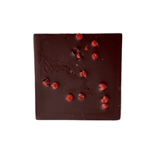 Load image into Gallery viewer, Pink Peppercorn & Pink Himalayan Sea Salt Half Chocolate Bars 2pk - Tia Coco Healthy Chocolate